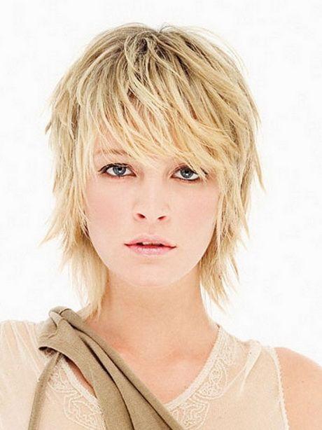 Medium Feathered Hairstyles Short Thin Hair Short Hair With Layers Razored Haircuts