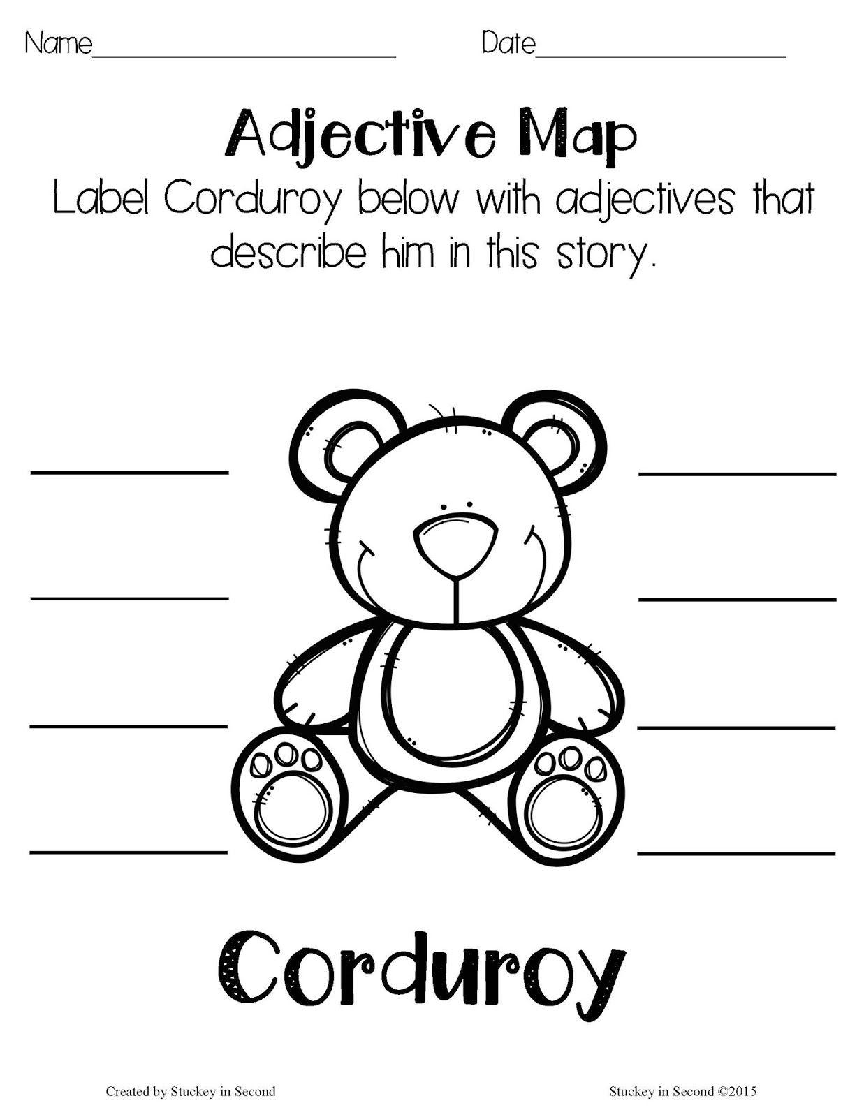 Literature Companion Units Corduroy