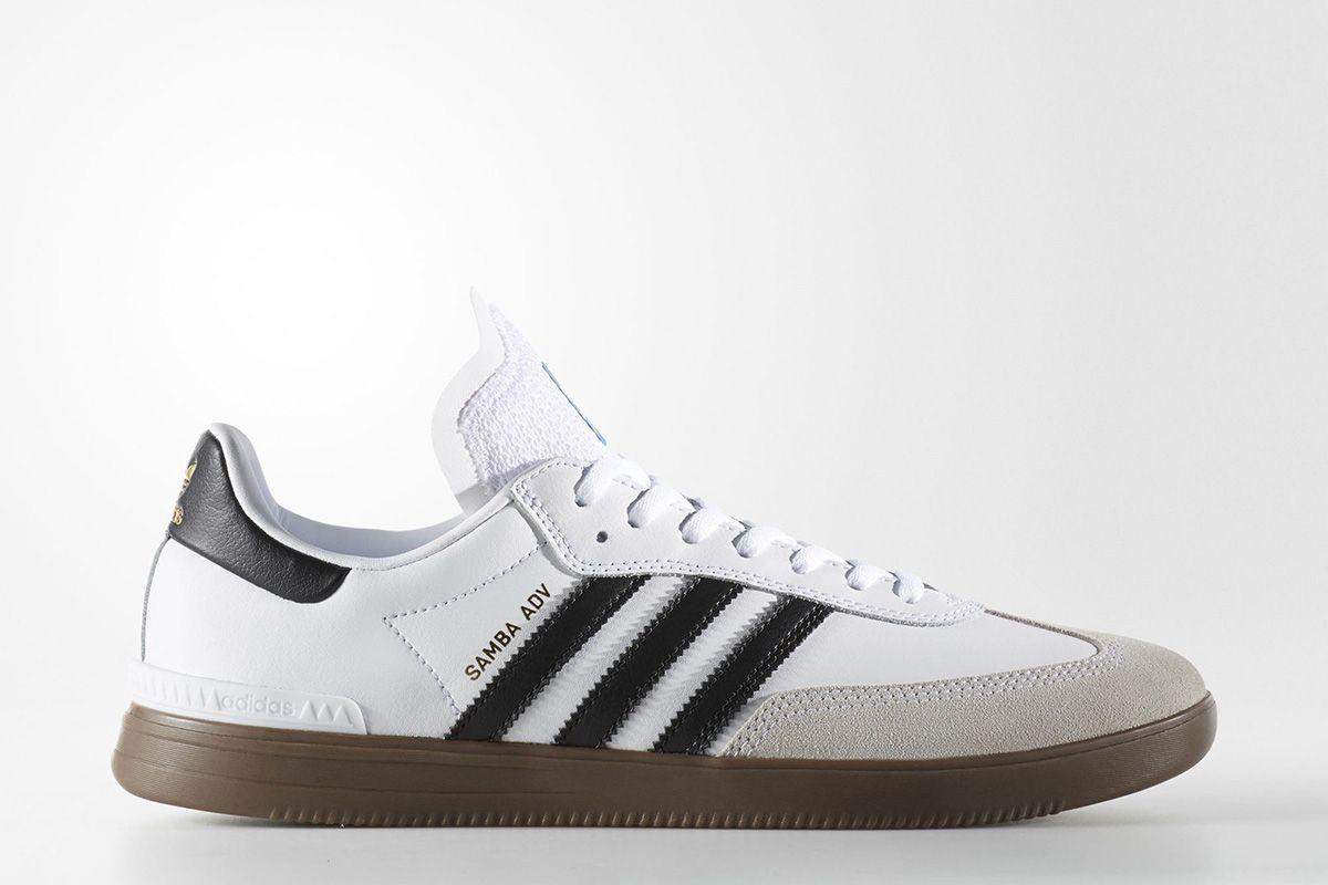 adidas Samba ADV Blanc Noir Gum Pinterest Noir gums, Adidas