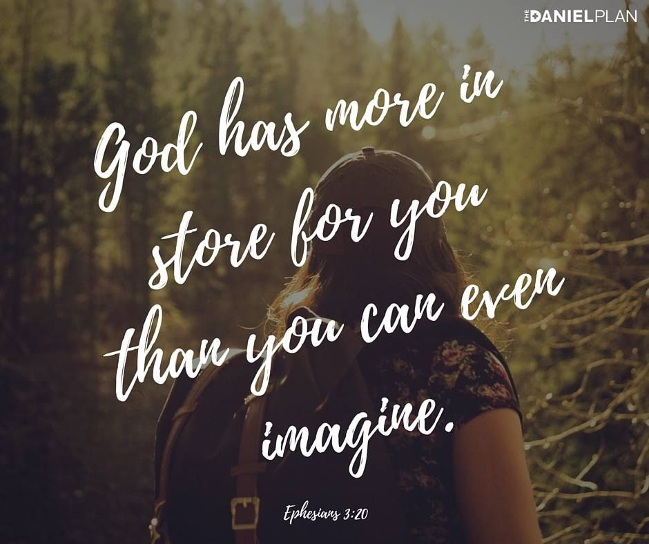 God can make changes in your life that you have never dared to ...