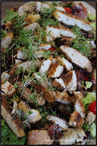 Cesar - Salat mit Paprika alla Jamie Oliver 15 Minuten Jamie - 15 minuten küche