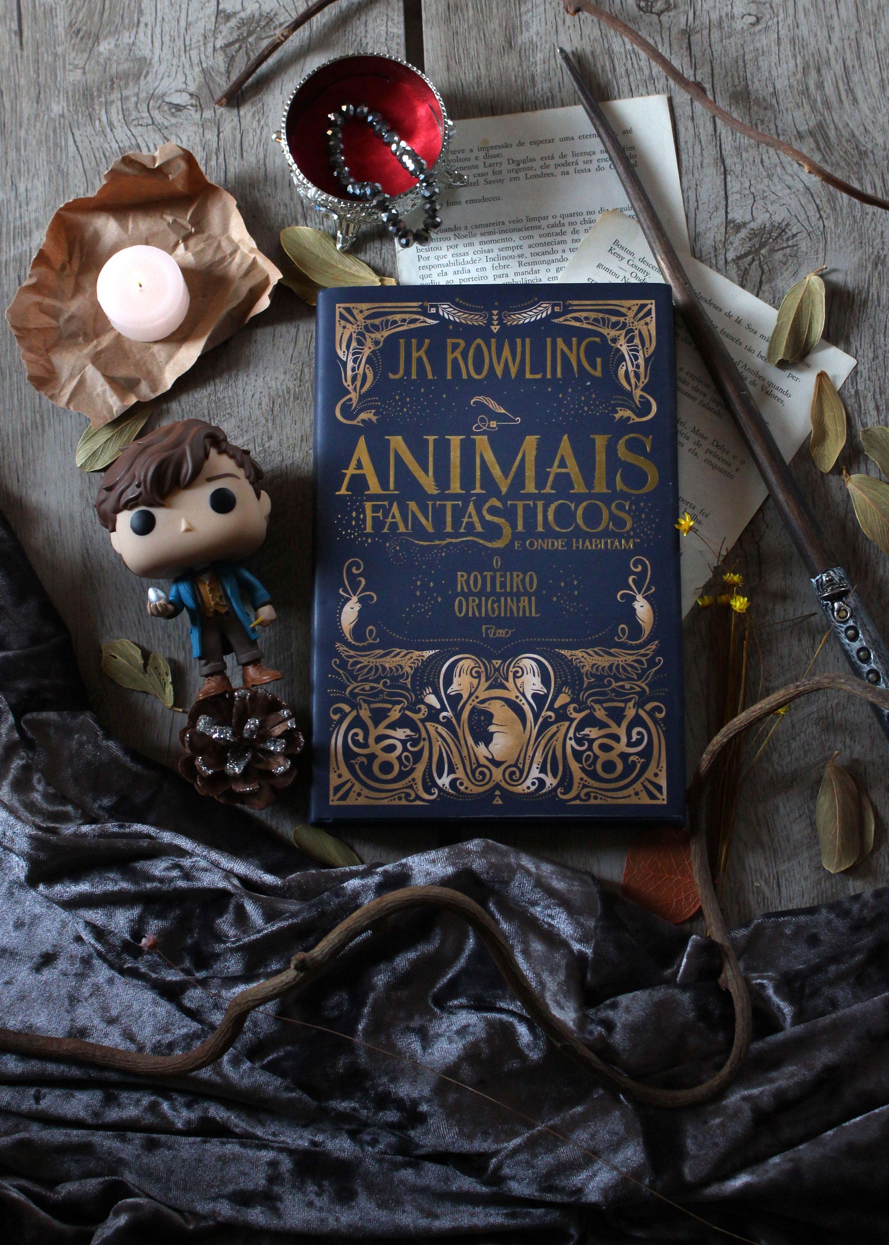 Animais Fantasticos E Onde Habitam Books Harrypotter Leitura