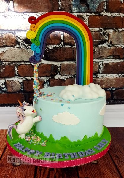 Lily Unicorn Birthday Cake Thanks to Lydia of vertorteltde for