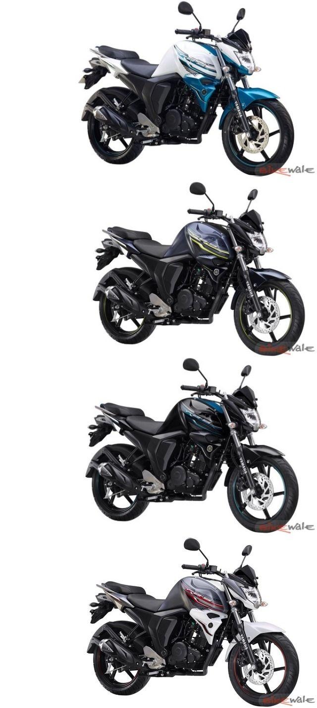 #Yamaha FZ-S Version 2.0 Now Available In New paint scheme #YamahaFazer #motorcycle
