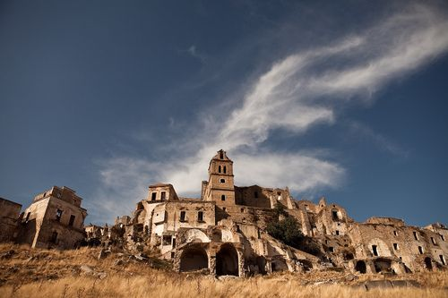 Ghost Town of Craco in Italy