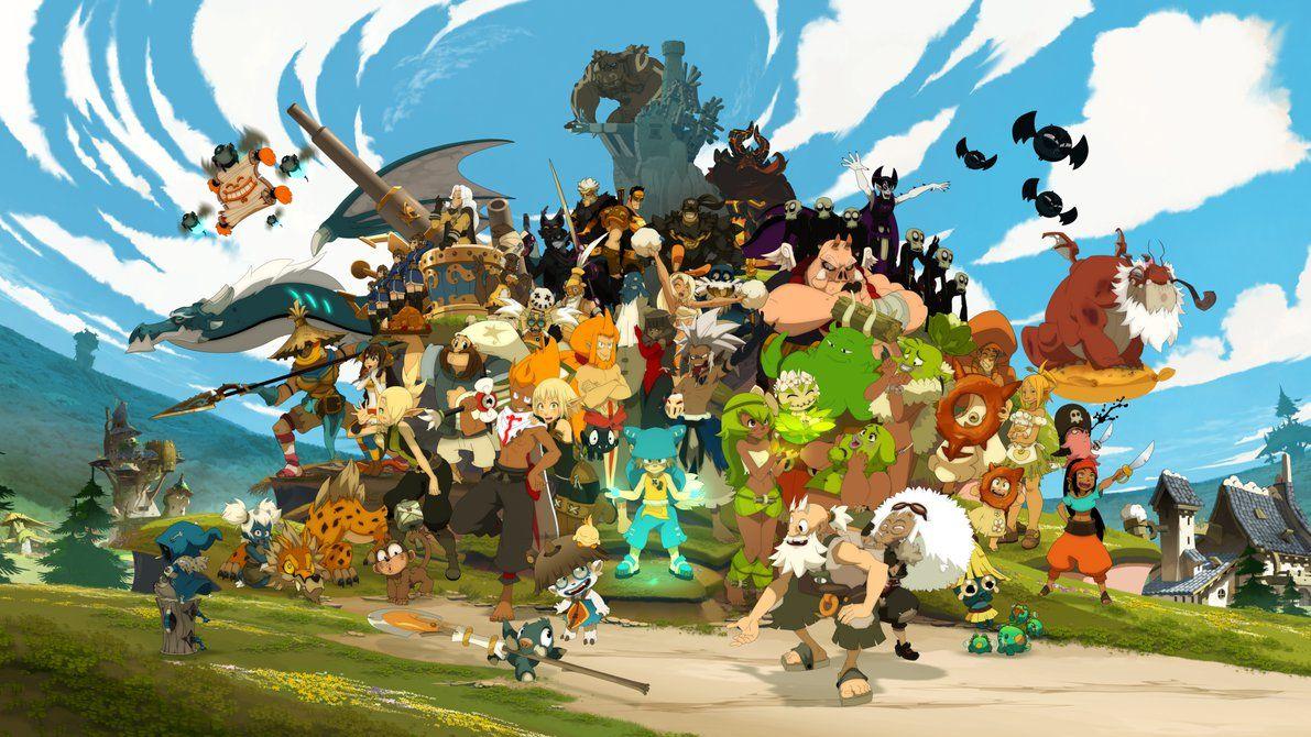 Wakfu Characters Anime L Anime Art