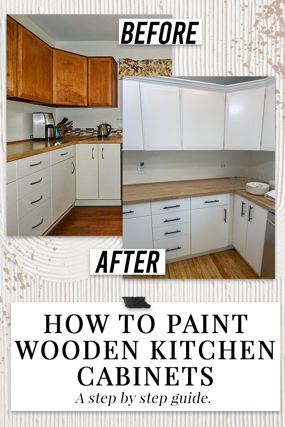 How To Paint Wooden Kitchen Cabinets Step By Step Guide Simply By Simone In 2020 Wooden Kitchen Cabinets Wooden Kitchen Kitchen Cabinets