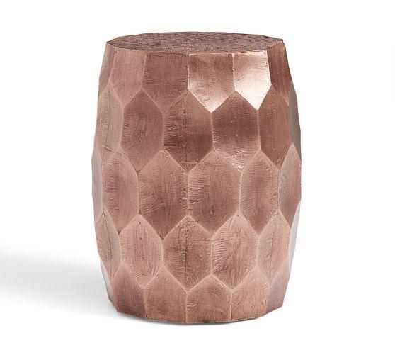 Vince MetalClad Coffee Table Pottery Barn Places To Visit - Pottery barn vince coffee table