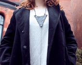 Rebelle leather necklace by lovemesome treasures