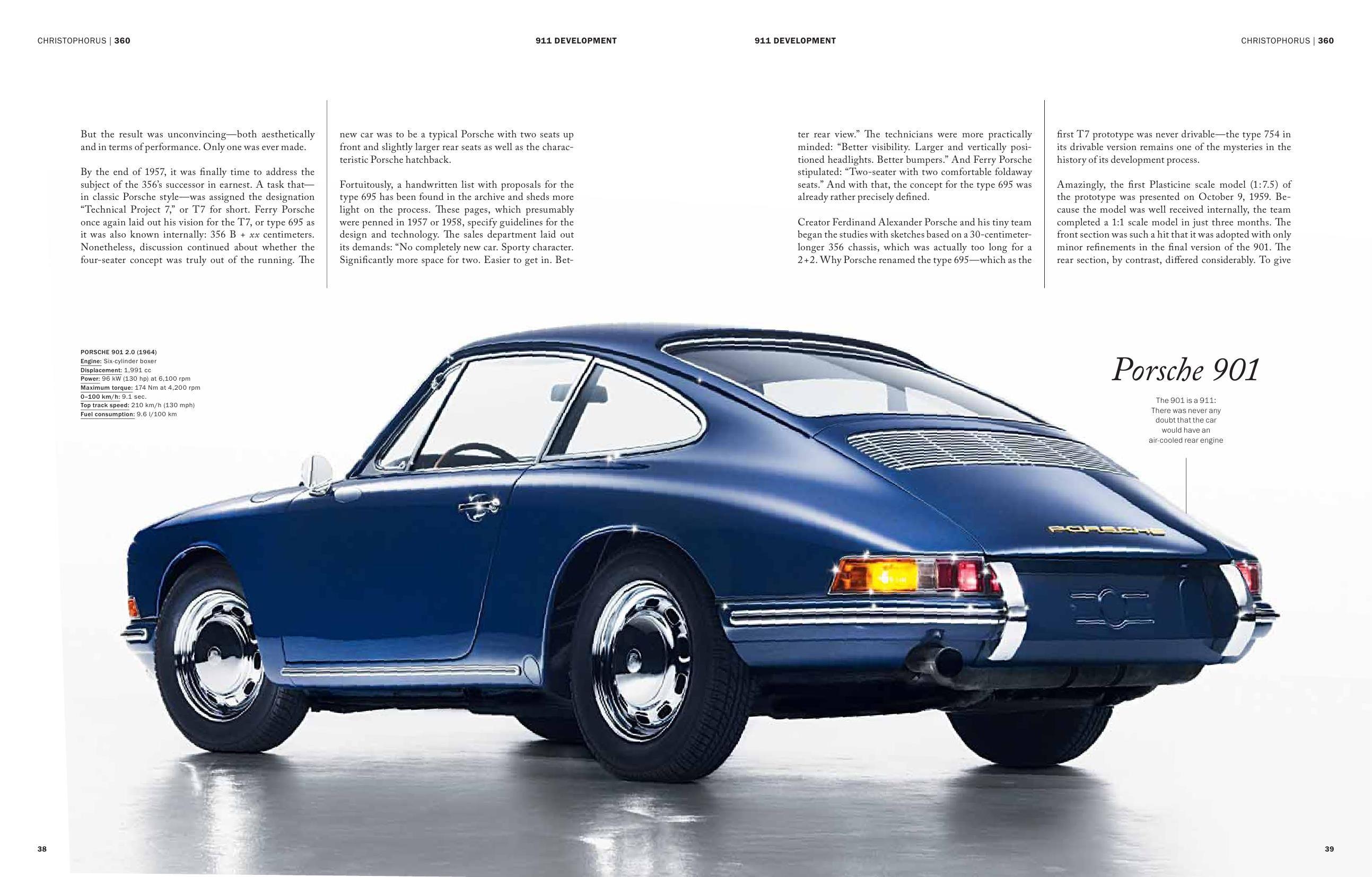 Porsche 901 Development Christophorus Mag