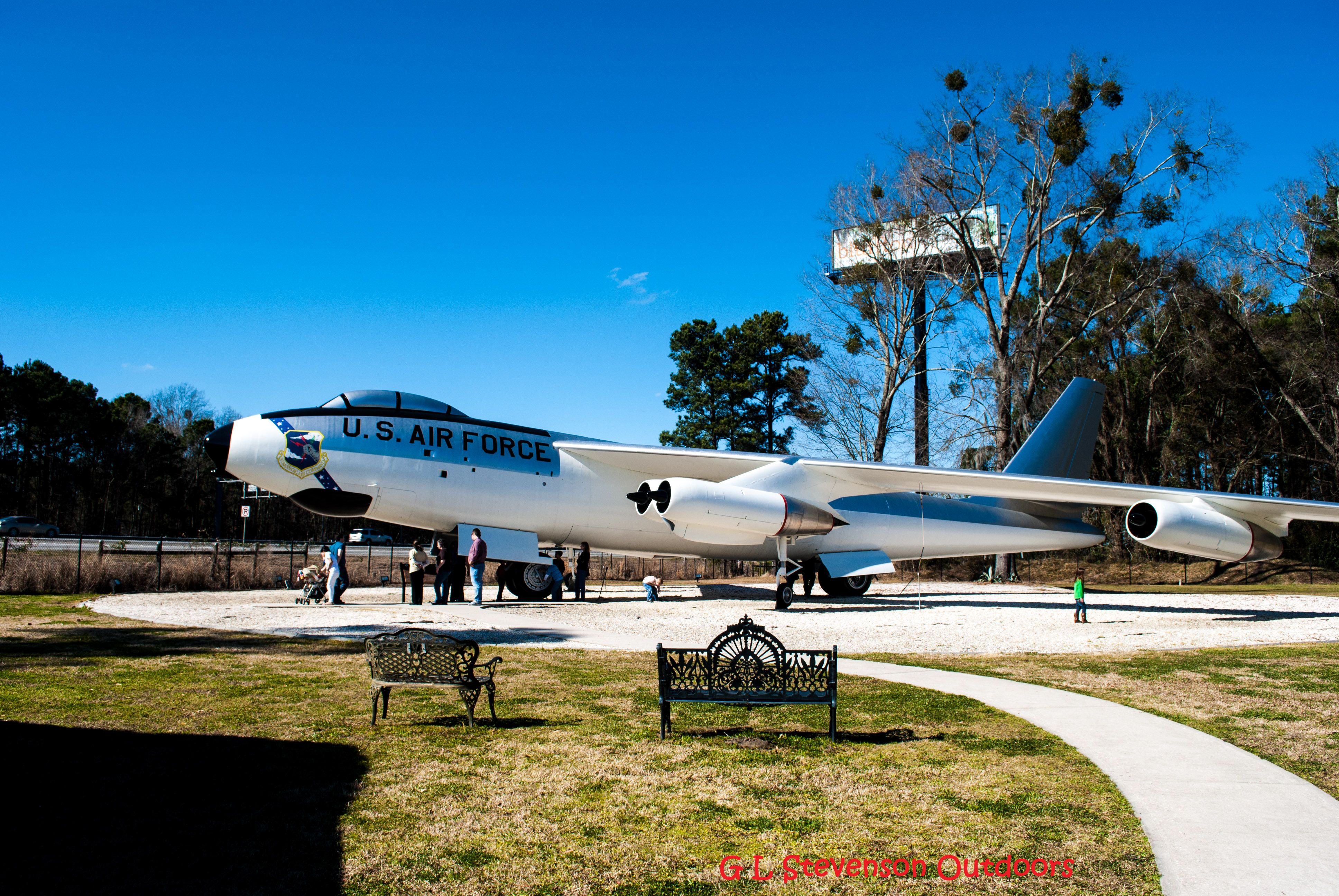 B47 Stratojet at the Mighty Eighth Air Force Museum The