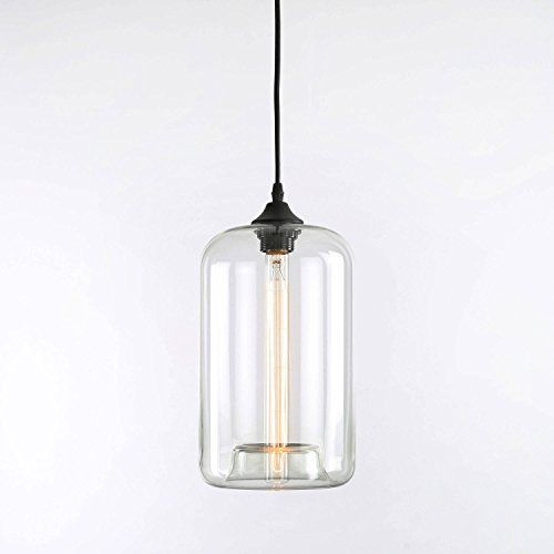 pendant lights under 100 - Clear Glass Pendant Light