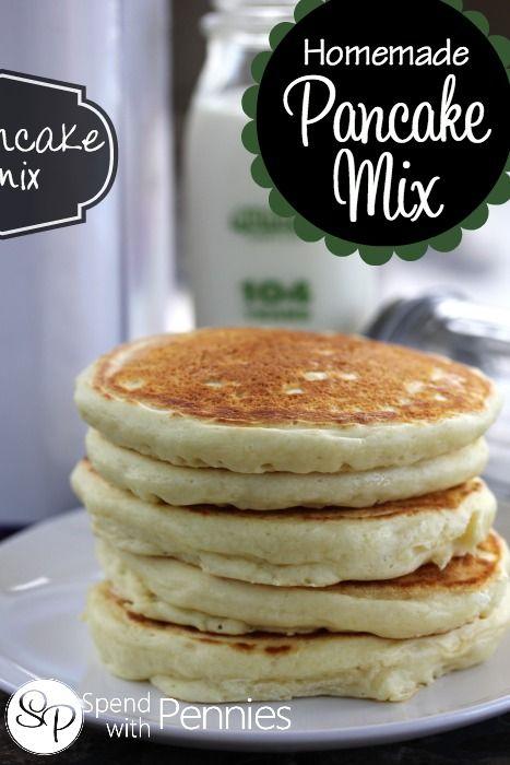 how to make quick pancake batter