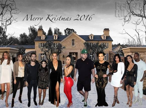 Nice For The Third Year Running Here S Our Kardashian Christmas Card 2016 Check More At Https 10ztalk Com 2016 12 21 For The Third Year Ru Postales Navideno