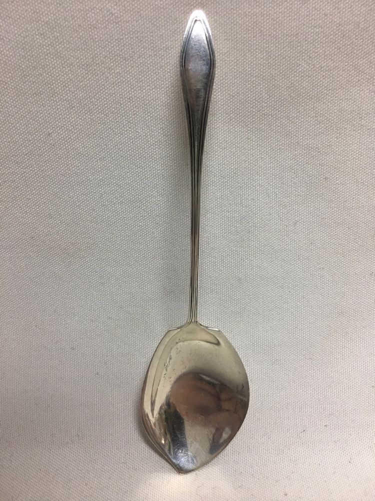 Sterling Towle MARY CHILTON JELLY SPOON Mono W or LPC