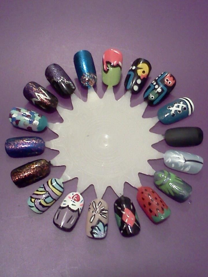 Nail art wheel #3 | Nails did | Pinterest | Nail art wheel, Wheels ...