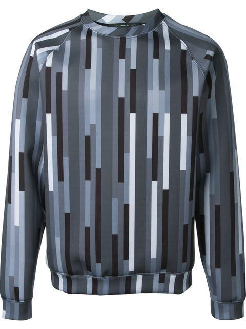 CHRISTOPHER KANE Geometric Print Sweatshirt. #christopherkane #cloth #sweatshirt