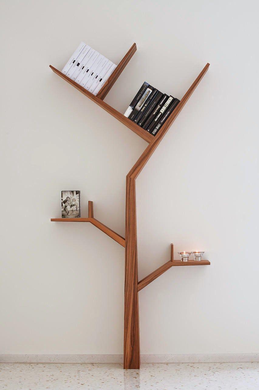 Latest trend designs | Creative tree shape book shelf | Innovative ...