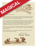 Easy Free Letter From Santa Magical Package  Special Letters