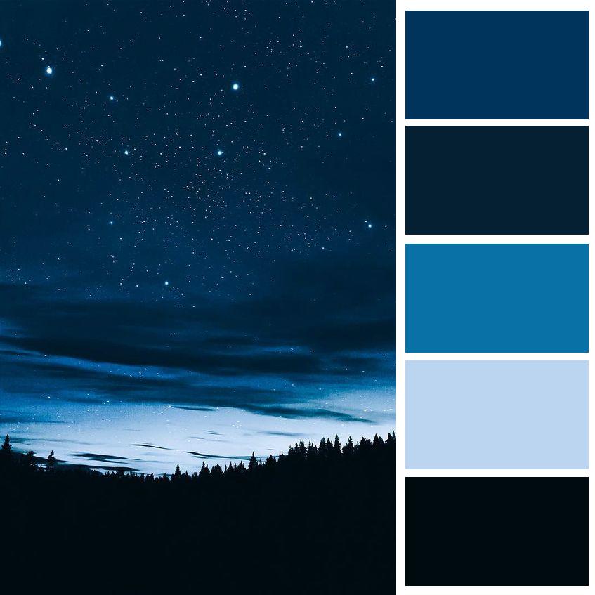 Black Blue Color Of The Night George Joysporn 1