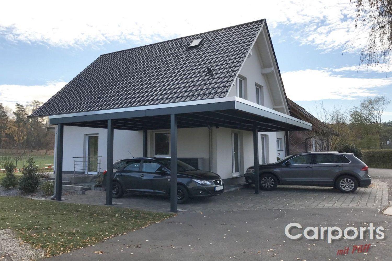 Carportanlage 645x425 cm + 423x260cm in Schloß Holte