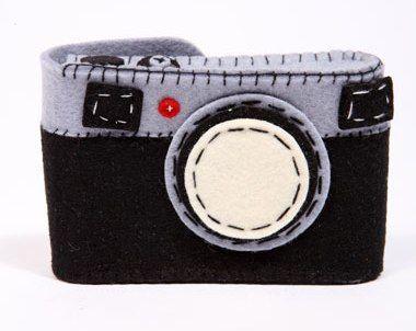 Funda de càmera de feltre