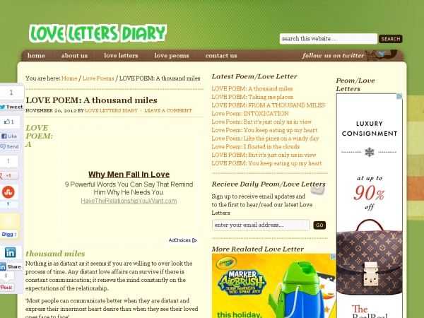 Love Letters Diary Clasic Love Poems, Romantic Love Letters and - romantic love letter