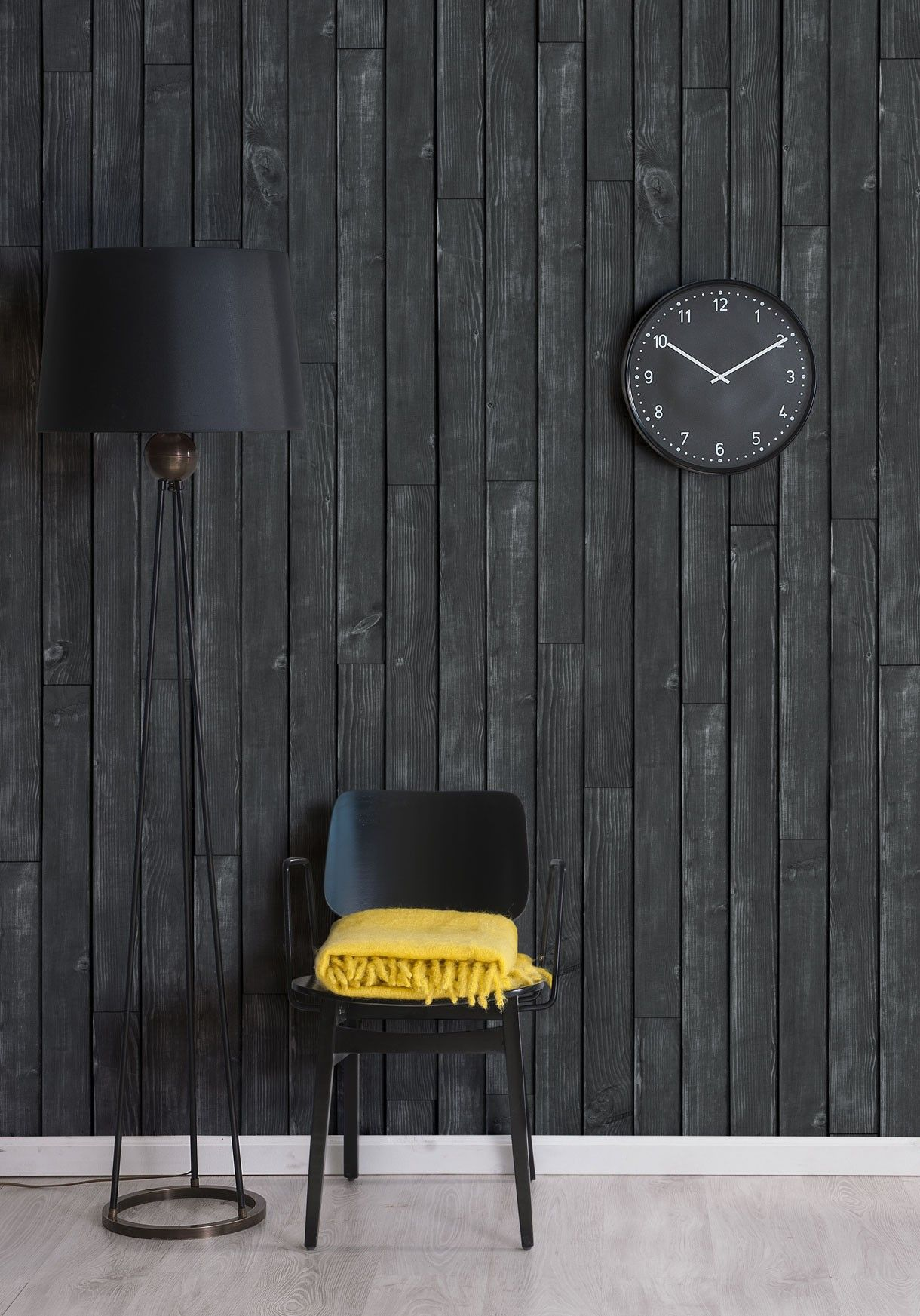 Black Wooden Boards Wallpaper Timber Panelling Milton King In 2021 Decor 3d Wallpaper For Walls Timber Panelling