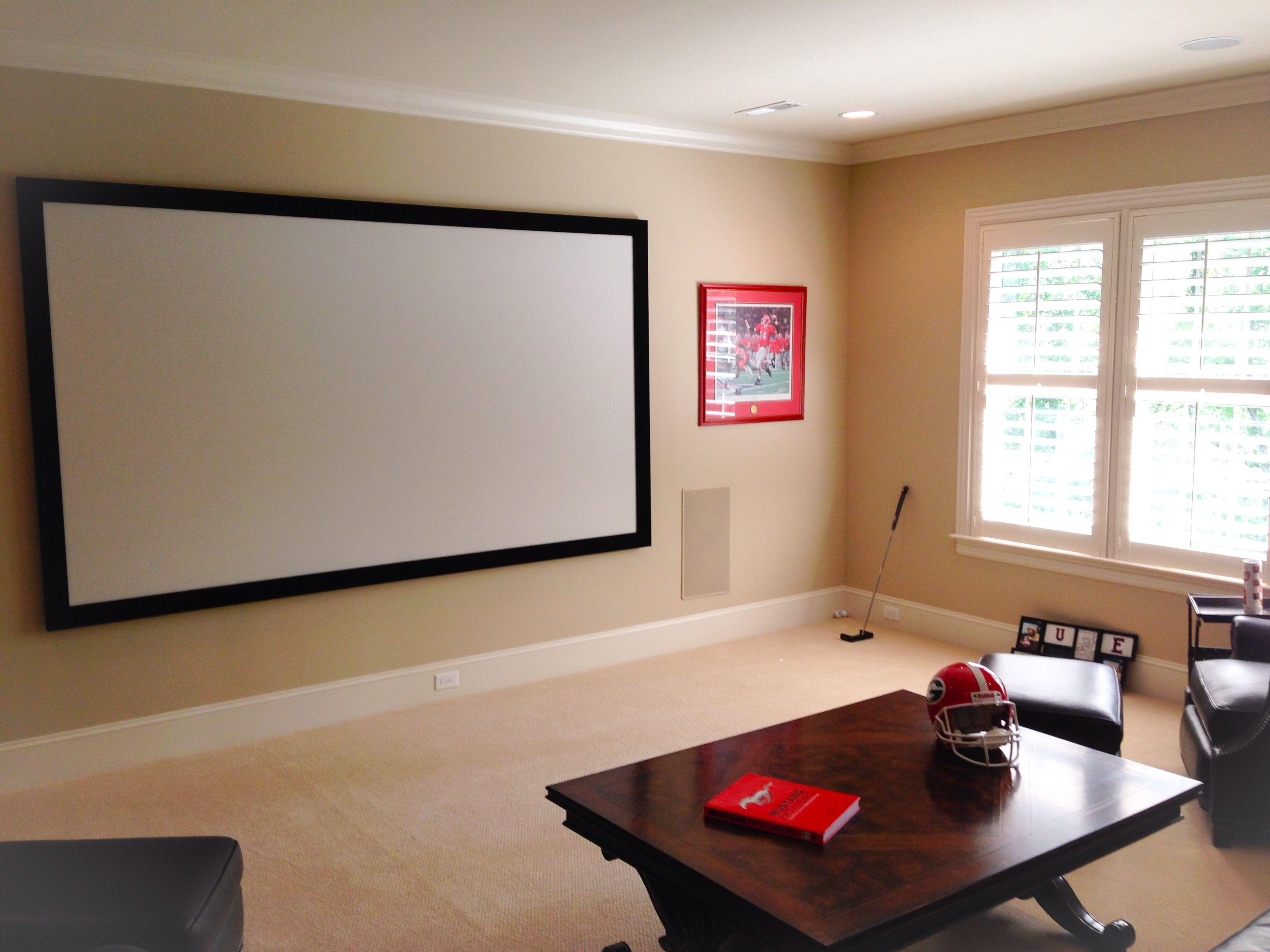 small media room w projector  small media rooms media