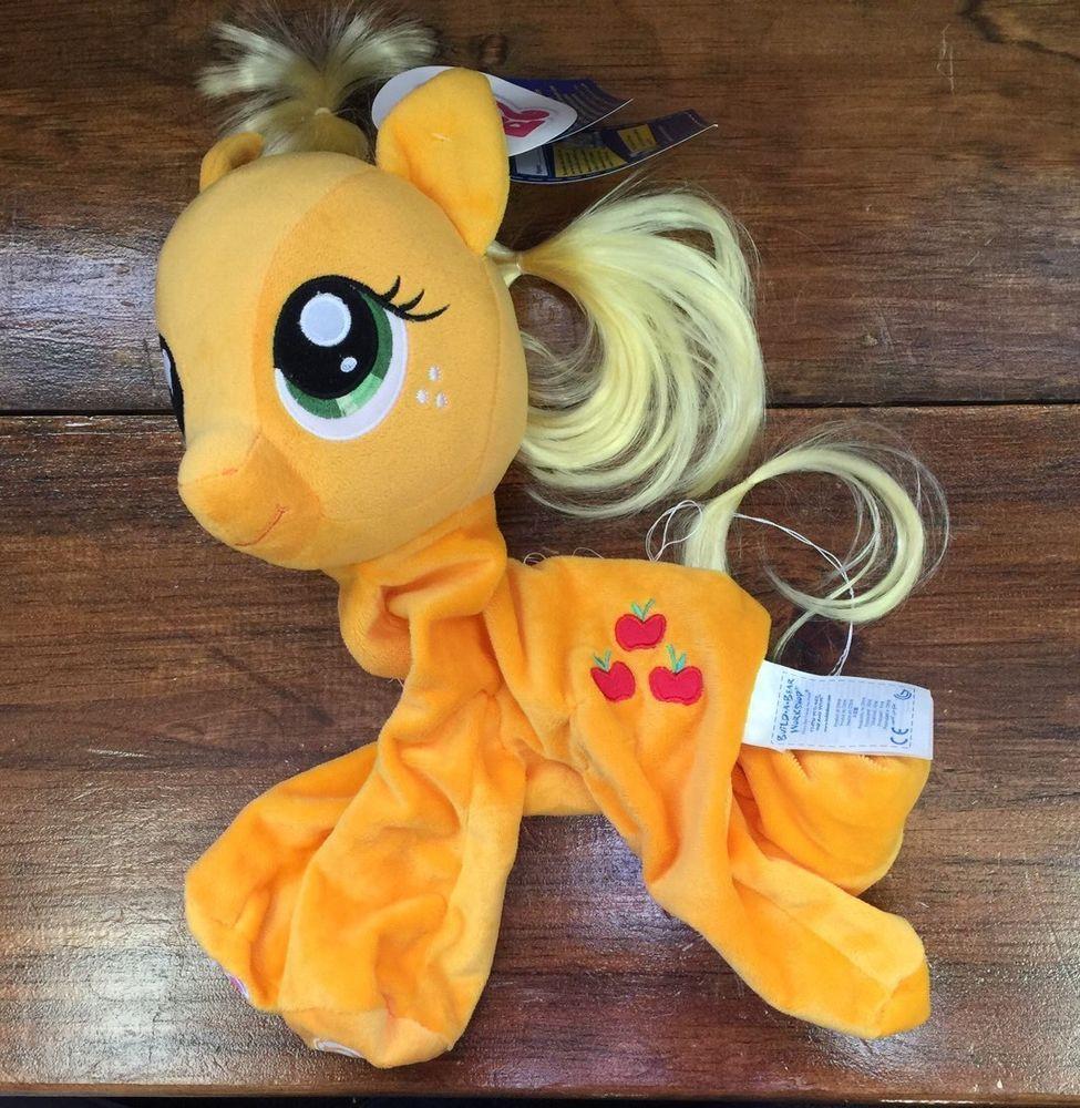 Buildabear unstuffed my little pony yellow applejack