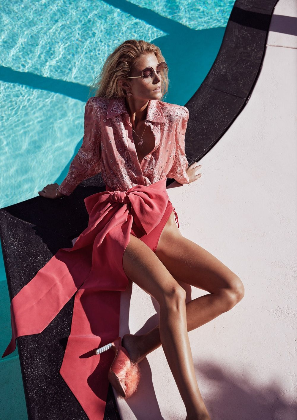 Kate Bock for Grazia Summer 2018 Fashion Editorial with Steven Chee ... 017d9be78