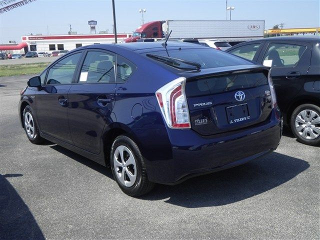 2012 Toyota Prius Nautical Blue Metallic Love That Color And