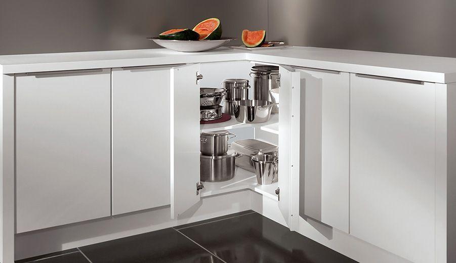 Ikea Küche Eckschrank Rondell  Eckunterschrank
