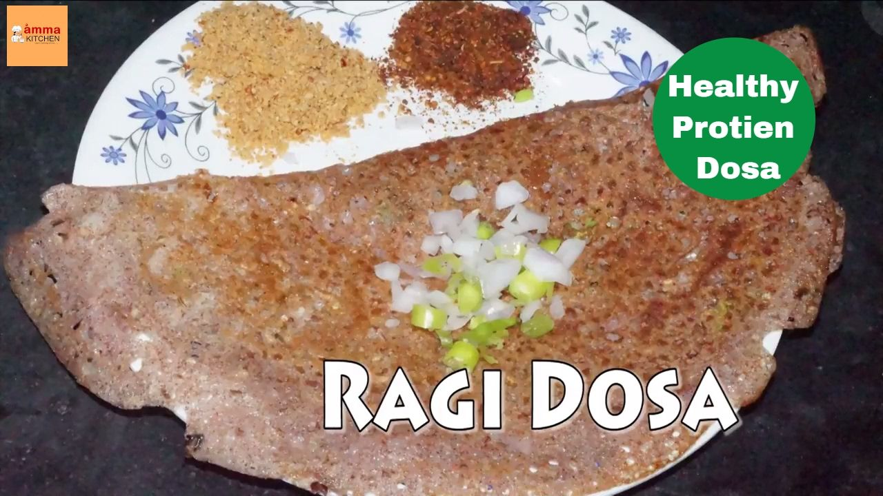 Ragi dosa diabetic and healthy indian recipes by amma kitchen ragi dosa recipe in telugu forumfinder Choice Image