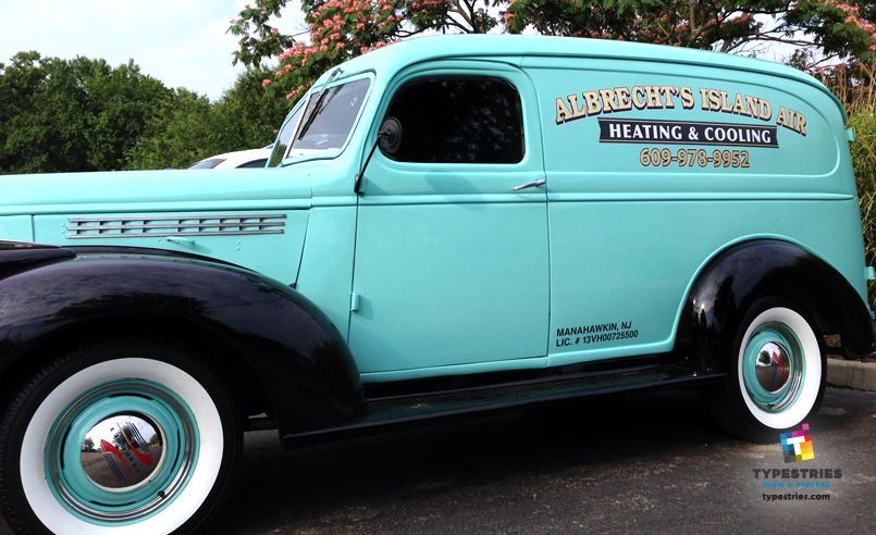 Albrecht S Island Air Heating Cooling Vinyl Graphics With