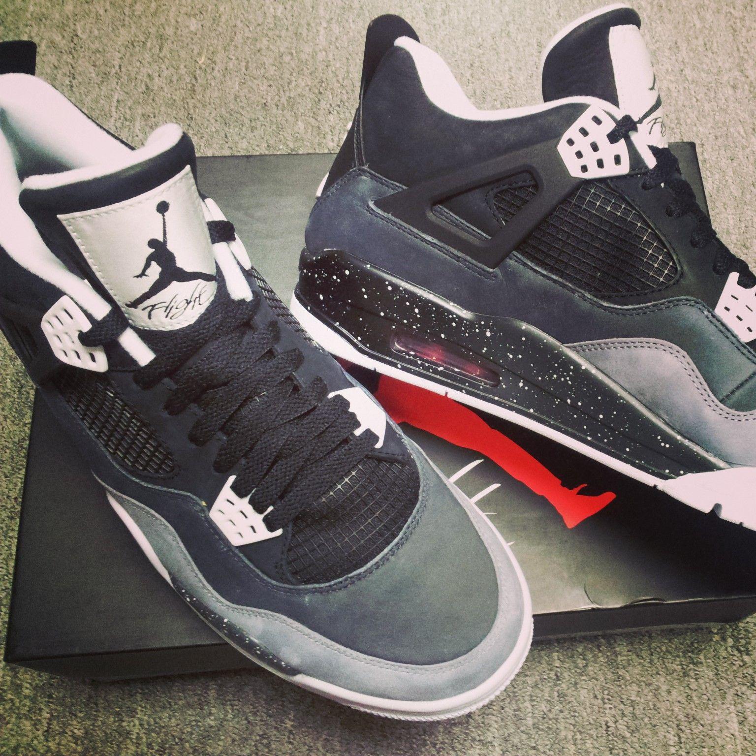 Nike Air Jordan 4 Retro Fear Pack (626969-030) #kickscrew #sneaker