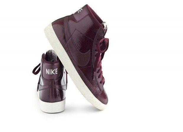 Nike Sacs À Main En Cuir Bordeaux Blazer