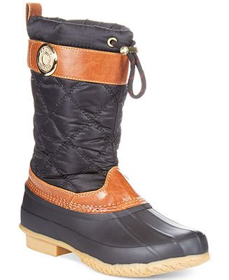 Tommy Hilfiger Women's Arcadia Duck Boots - Shoes - Macy's