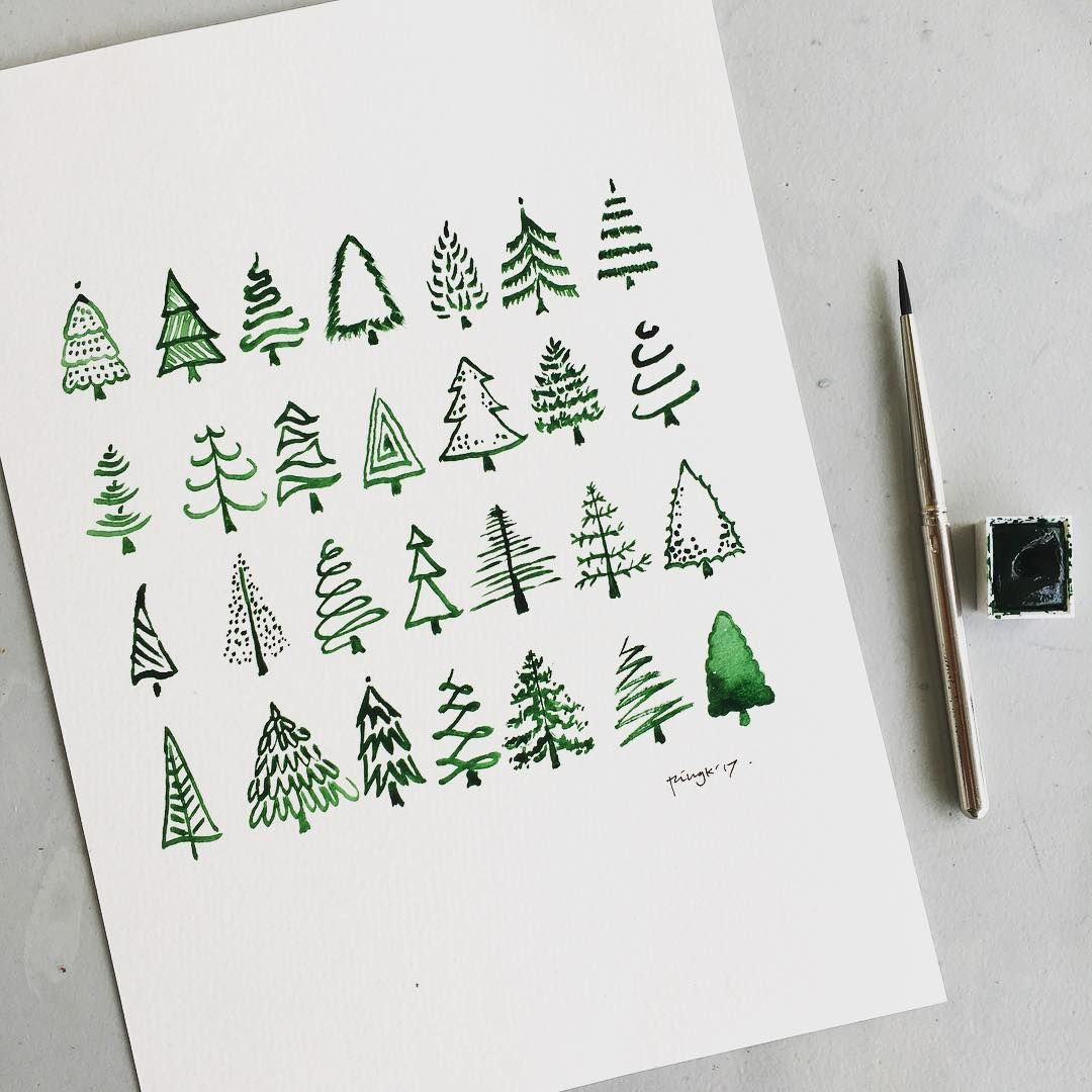 """Photo of Marianne on Instagram: """"When someone needs inspiration for their Christmas card. Some of these shapes were found in the clipart. And although it's not part of … """""""
