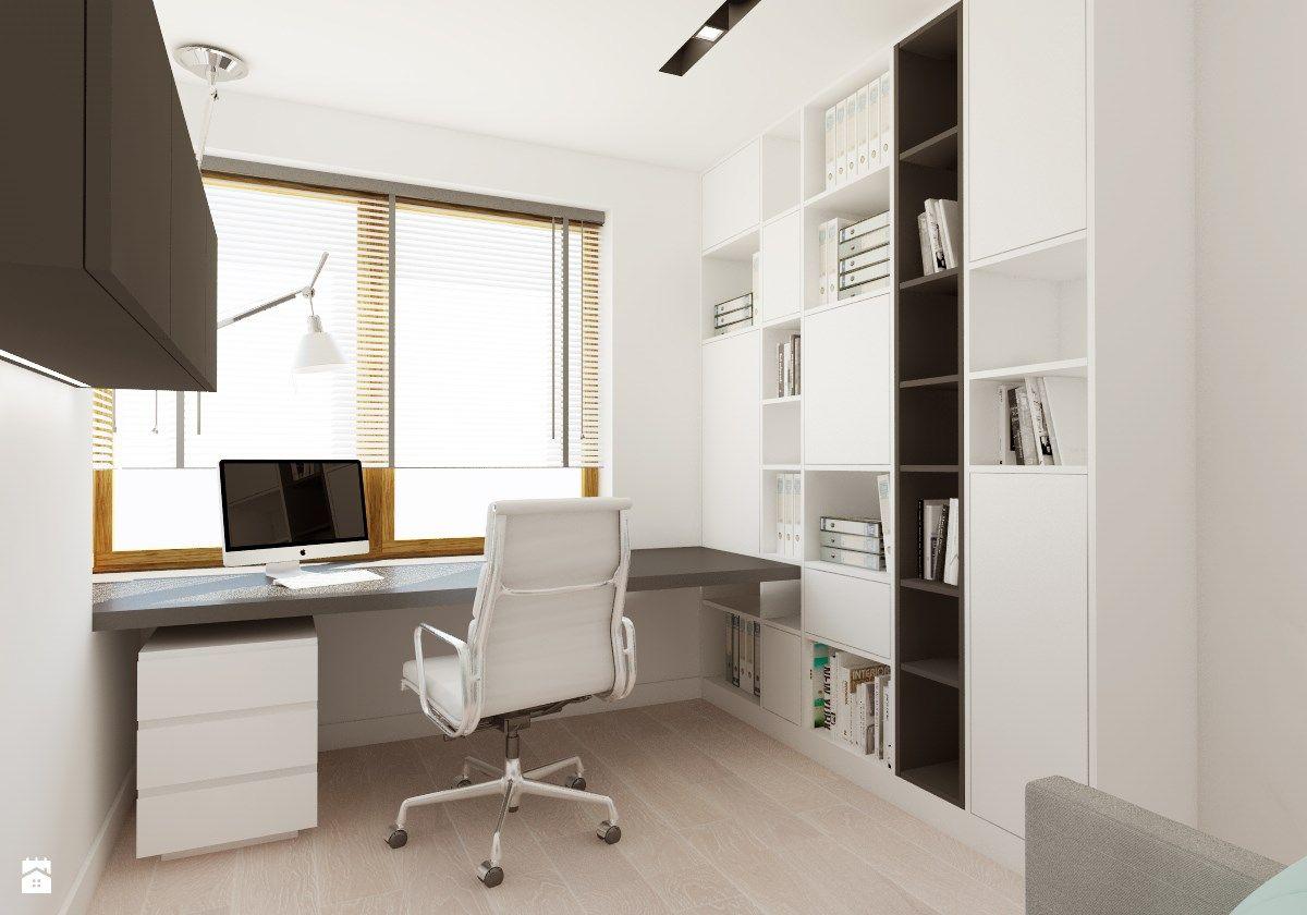 Wystrój wnętrz Biuro styl Nowoczesny. Projekty i