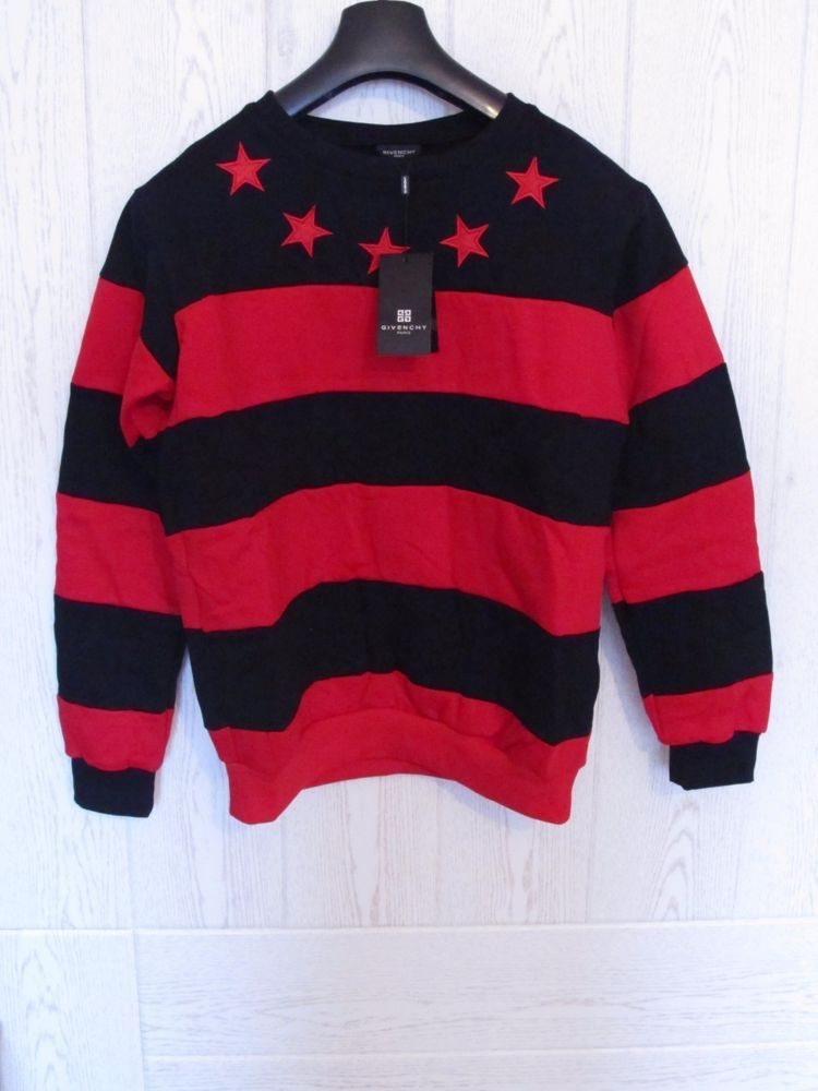 8cb784b10aecb Givenchy Men s Red Star Sweater Jumper Mens Rottweiler  Givenchy  Jumpers