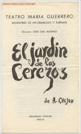 Tchecov El Jardin De Los Cerezos El Jardin De Los Cerezos Libros Leer