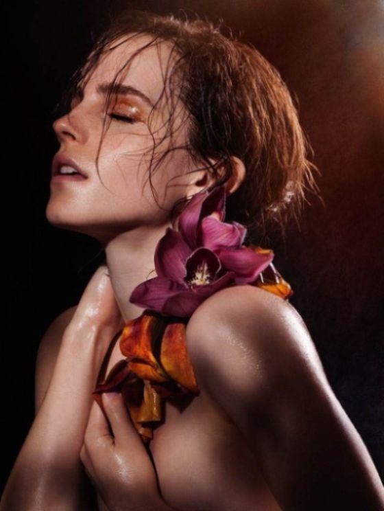 Emma Watson's Beautiful Nude Photoshoot