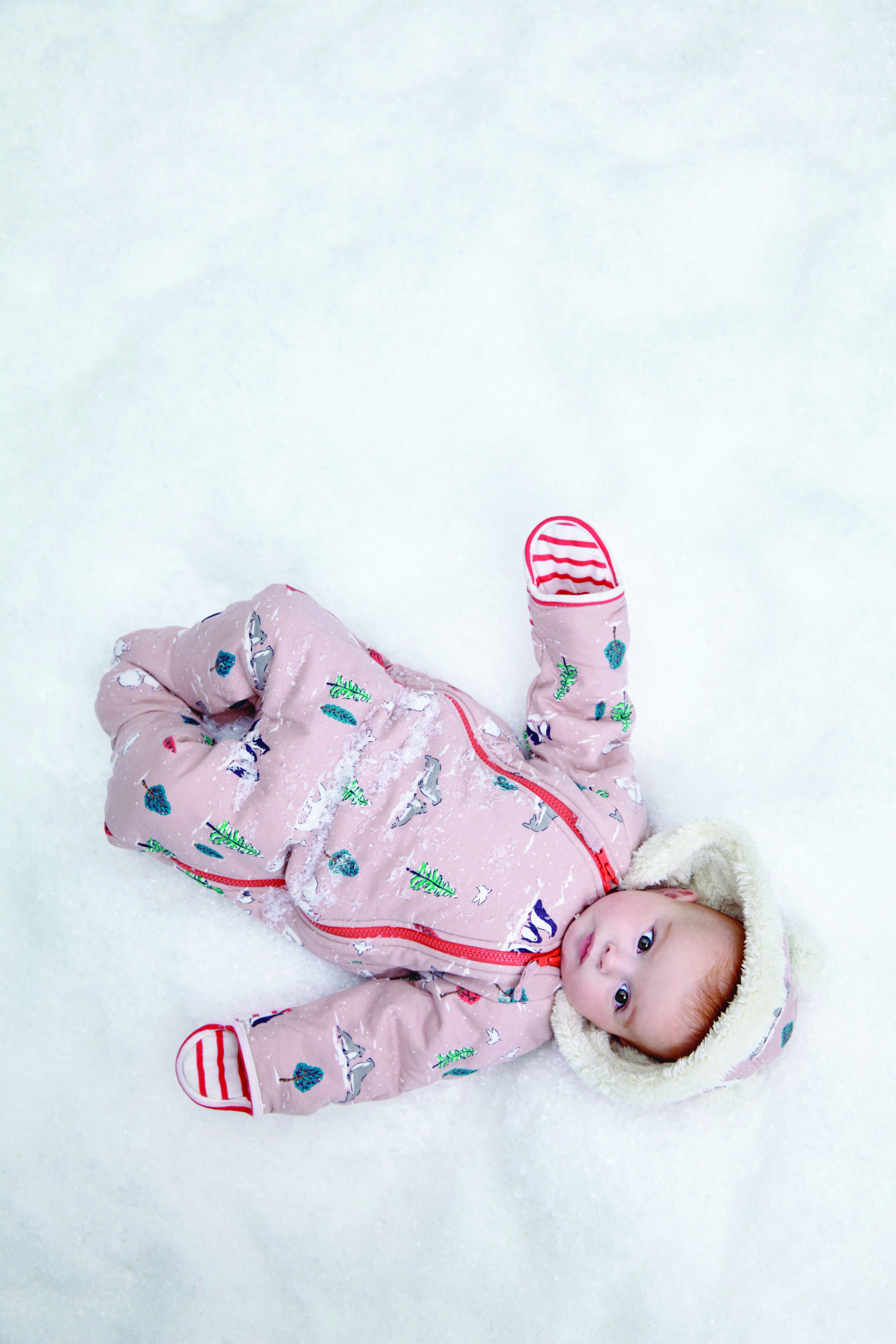 Baby London Snowsuit Photoshoot Boden Snowsuit Fashion For Baby