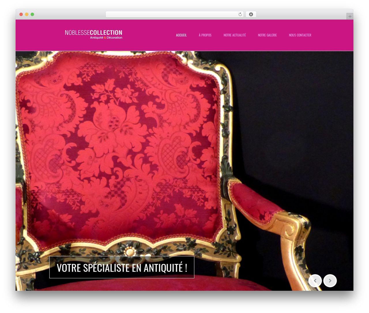 Almera Wordpress Theme Noblesse Collection Fr Wordpress Theme Theme Noblesse