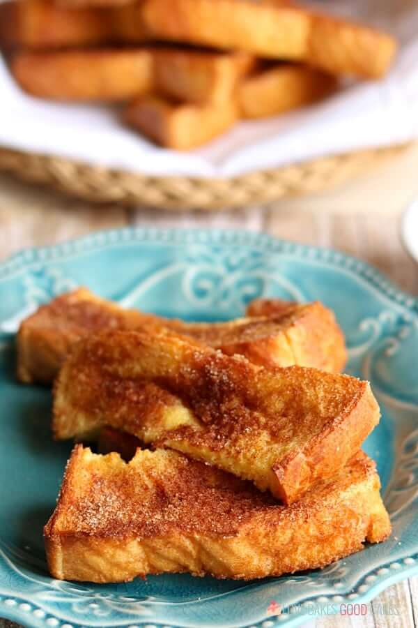 Air Fryer French Toast Sticks Recipe in 2020 Air fryer