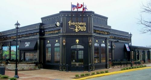 Fredericksburg Pub, Fredericksburg, VA.  Not only is it a great place to go for the night life, but it also has amazing food.