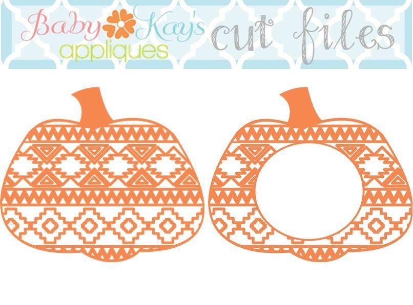 Cut File Aztec And Monogram Aztec Pumpkin Aztec