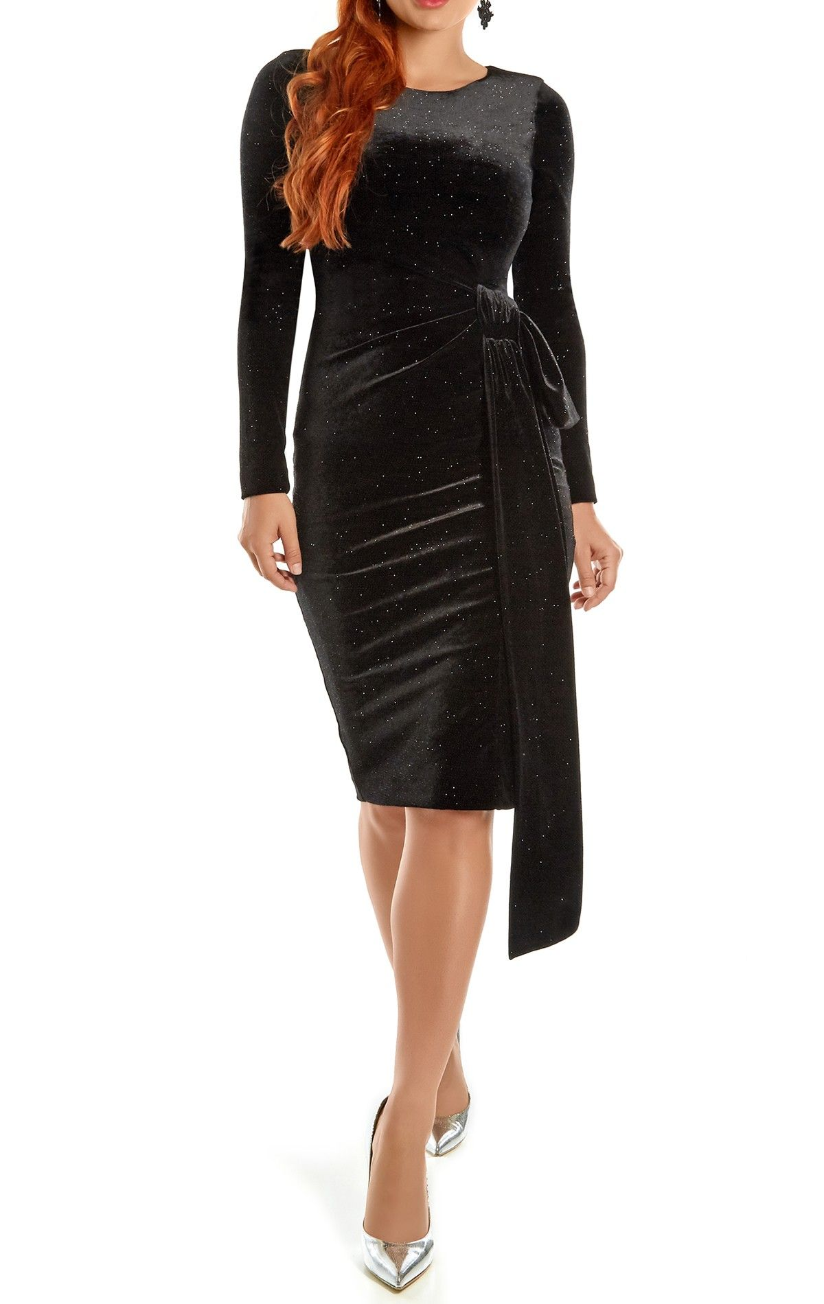 fffc6e8778808 This sleek and stylish dress is a party must have for the bigger busted  woman.