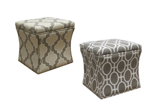Nailhead Trim Storage Ottomans In The Target Online Clearance That Are Actually